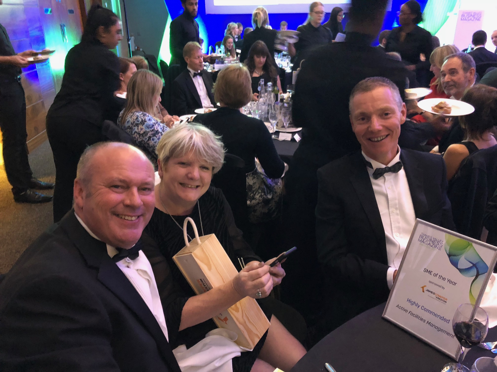 Active highly commended in Thames Valley Business Magazine Awards 2017