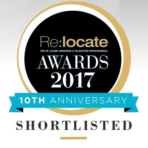 Active Shortlisted For Best Relocation Management Company Award 2017!