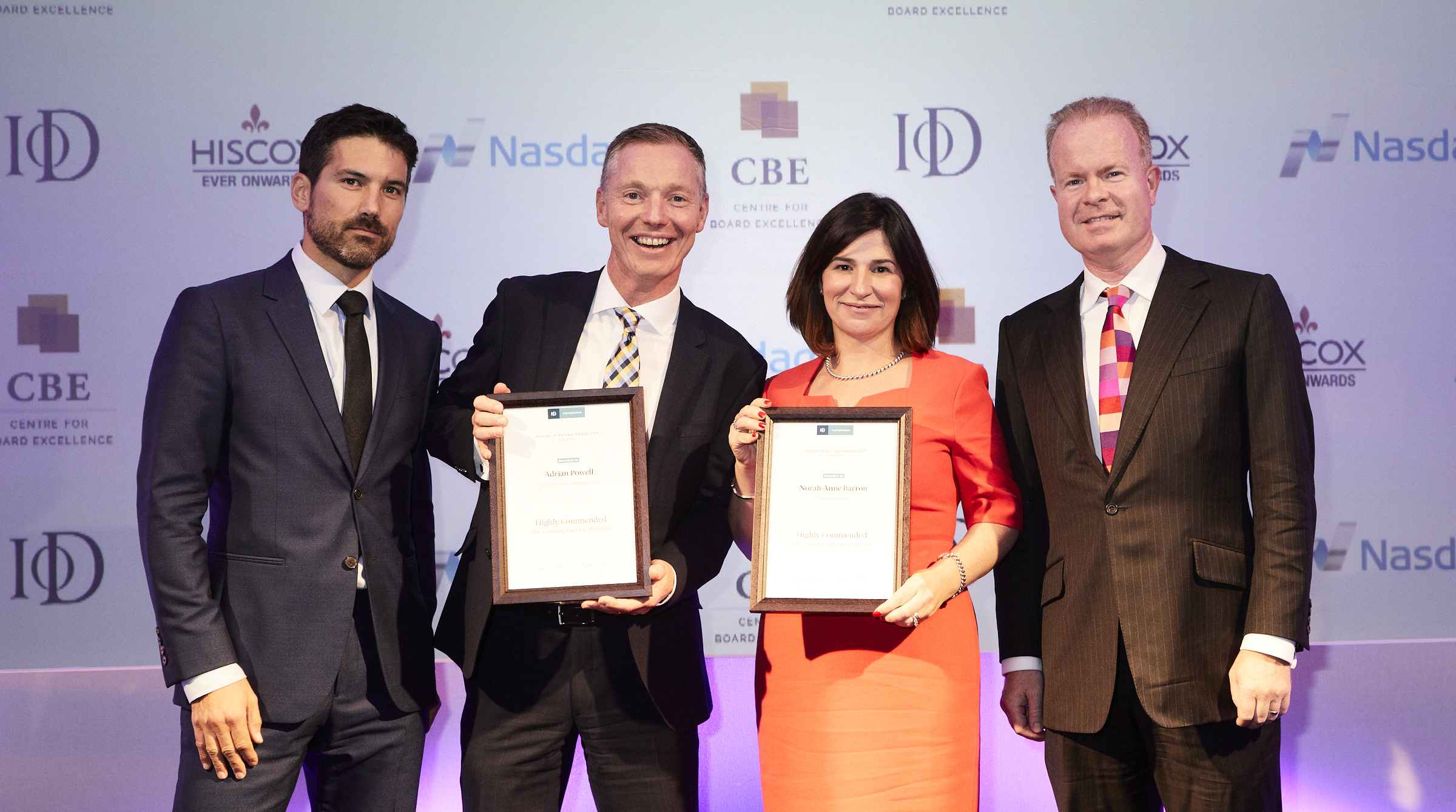 Active director awarded IoD Highly Commended Award